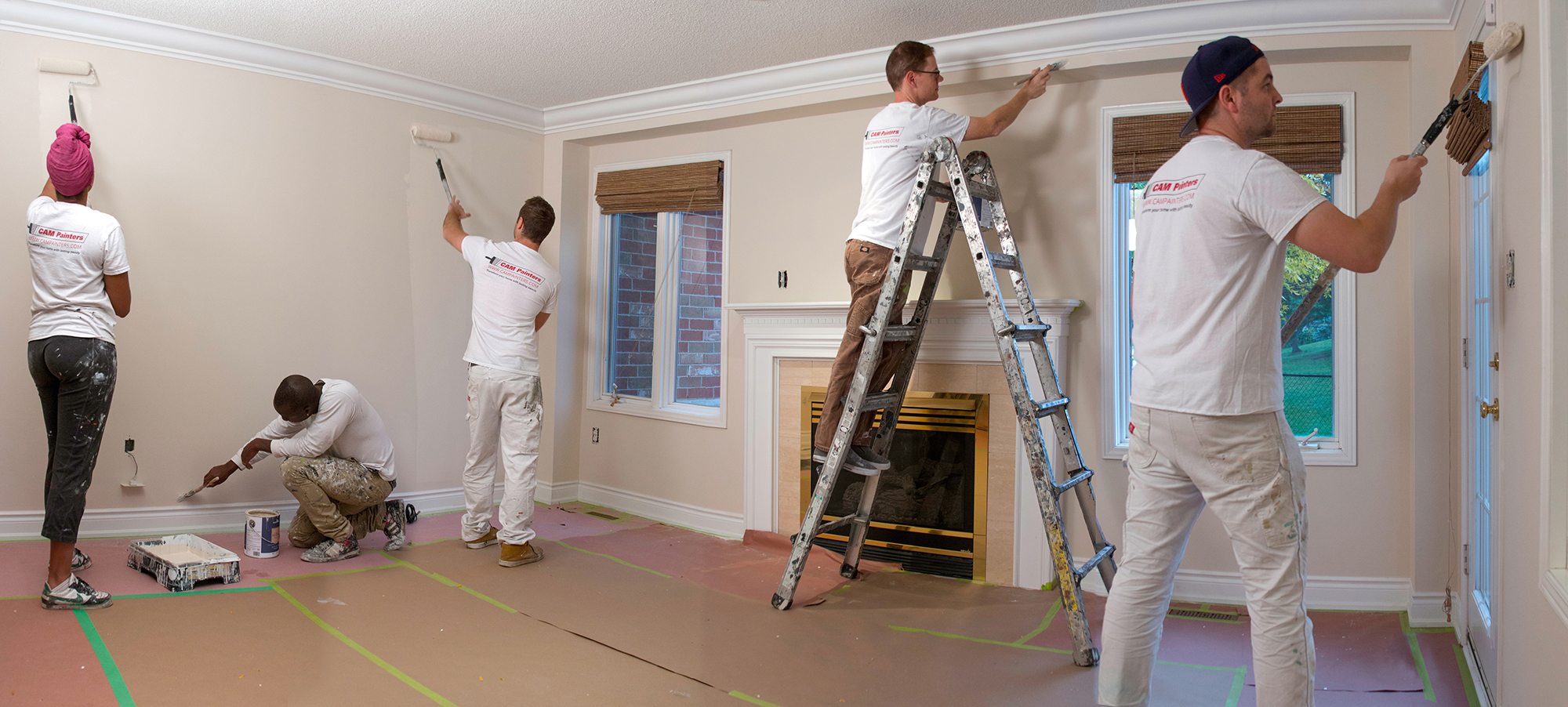 Cost For Professional Interior Painting