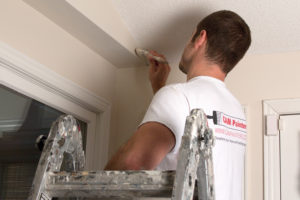 Toronto house painting, during project